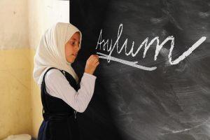 girl seeking asylum
